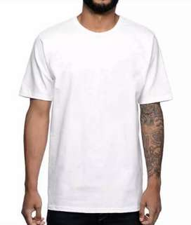 High Quality Plain White Shirts (Bulk Pack)