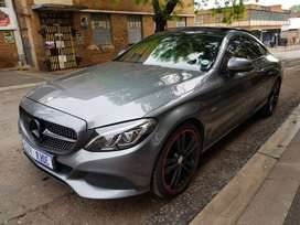 Mercedes C200 Edition 1 Coupe Year Model: 2017 Mileage:67000km