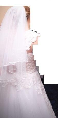 Sprzedam suknie ślubną Lena Białystok - image 5