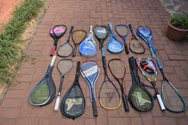 Older Type Squash Rackets Selling R50 each
