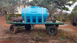 Trailer with water tank for sale