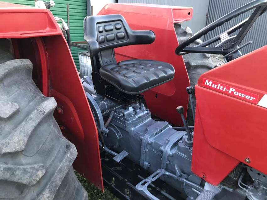 Massey 188 tractor with Dozer blade 0