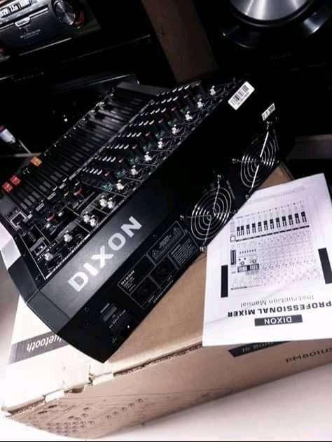 Dixon 8 channel Powered mixer 0