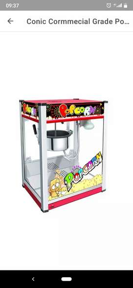 Commercial Popcorn  Machine for Sale