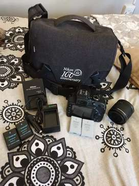 Nikon D3400 with extra's for sale