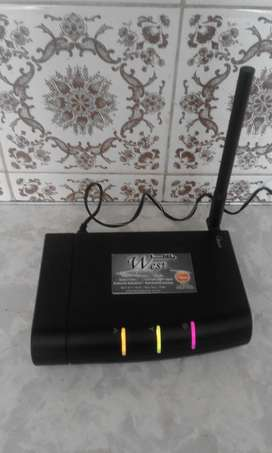 USB Modem for Internet access iburst. Works with Radio waves.