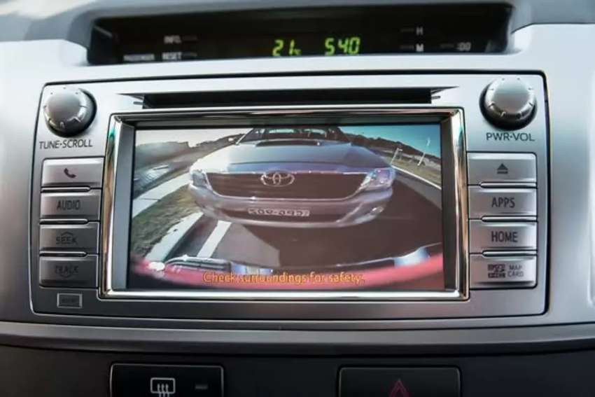 Reverse Camera For Toyota Hilux and Fortuner 0