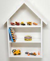 Półka domek regał półki do pokoju dziecięcego