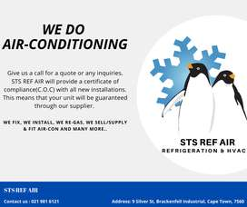air-con installation & services with free C.O.C
