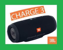 Charge 3 JBL/ Большая блютуз колонка / AUX /USB /microSD