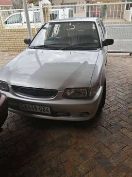160i tazz  2001 good condition R50000 or swap for Runx