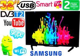 "Телевизор 32"" Samsung SmartTV LED! FullHD, IPTV, Android, T2, WIFI,USB"