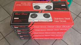 Gas stove 2 plate