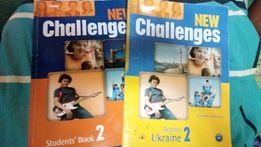 New Challenges 2. Student's Book + Across Ukraine 2 учебник английский