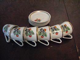Набор кофейных чашек СССР