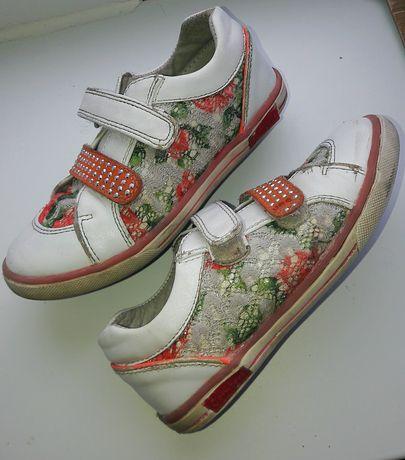 кожанные ботинки B&G на девочку р.29 Новомосковск - изображение 3