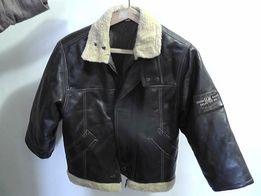 куртка подростковая коричневая