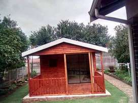 Wendy houses and log cabin