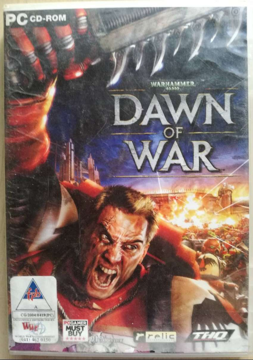 PC CD ROM GAME WARHAMMER DAWN OF WAR 0
