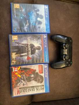 Ps4 games and joystick
