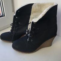 Женские ботинки на меху, 39 размер
