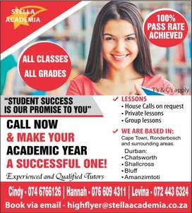 Tuitions Offered