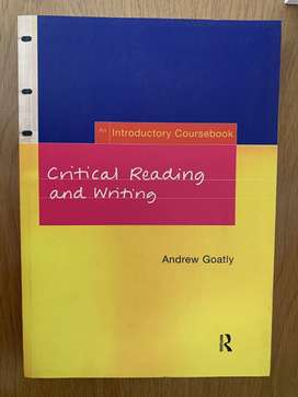 Critical reading and writing