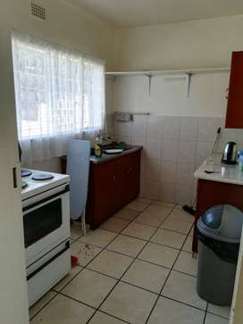 One large room available to rent in 2 bedroom flat.