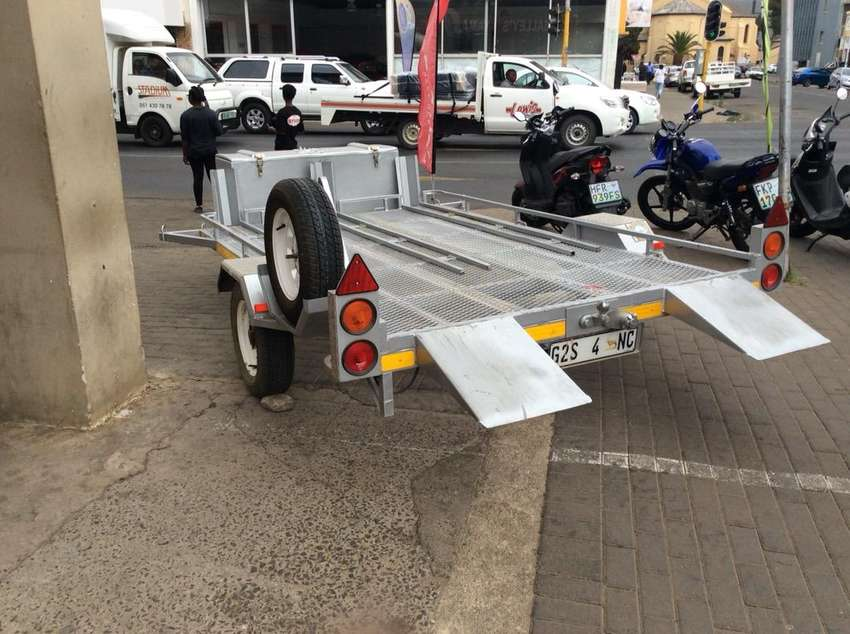 Used Triple motorcycle trailer for sale at Salley's 0