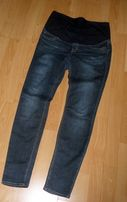 H&M mama jeansy spodnie ciążowe 40/42