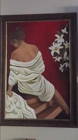 Oil painting 1m 700