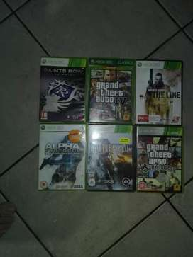 Xbox 360 games all of them in very exellent condition