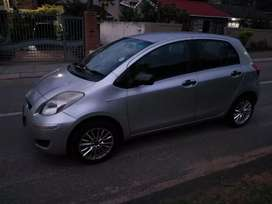 2009 Toyota yaris with only 84000kms on the clock