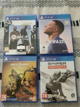PS4 games combo