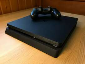 PS4 for Sell With 2 Controllers & 2 Games