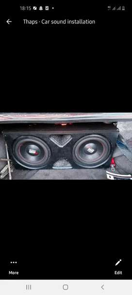 Car sound fitter