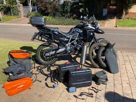 2012 BMW F800 GS ABS with Heated Grips