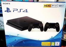 Playstation 4 500GB + 2 pady CUH-2216A HDR najnowszy model slim