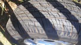 215/75R15 Tyres including Rims