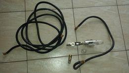 Gruby kabel 4m zasilający do wzmacniacza + bezpiecznik 200A