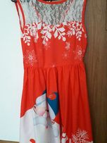 Sukienka świąteczna