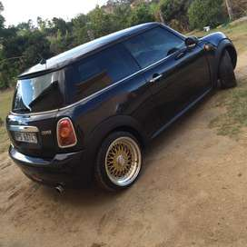 Mini Cooper R56 coupe with 17inch BBS mags with new tyres