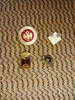 Значки на иголке и на булавке