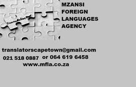 General translation Services in Cape Town