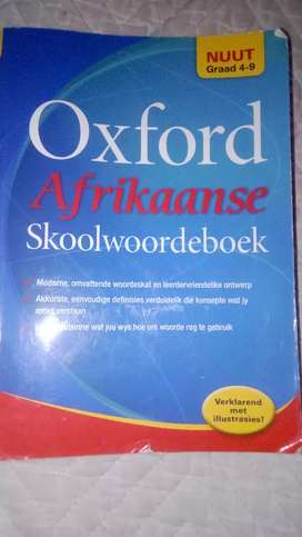 Oxford afrikaans dictionary