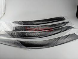 Ветровики, дефлекторы окон ДЕО Ланос, Сенс Voron (на скотче) оригинал