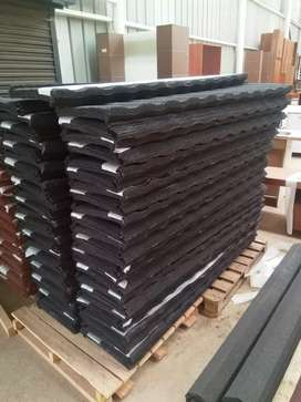 New Black Steel Rooftiles For Sale