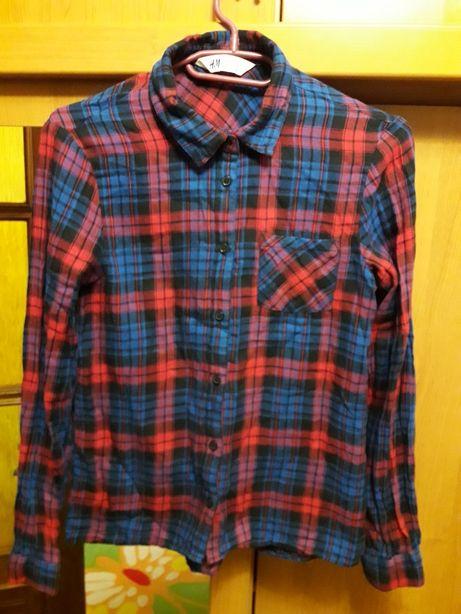 Байковые рубашки для девочки H&M Новая Каховка - изображение 1
