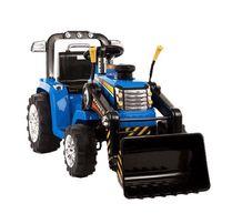 Najmocnijszy Traktor na akumulator z Łyżką i Pilotem 2x45W