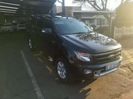 2015 Ford ranger 3.2 wild track double cab 4x4